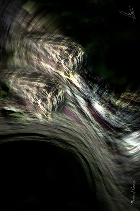 FLOWS OF ENERGY Photographic art by Loek van Walsem